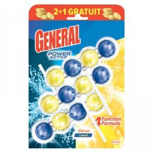 3* BLOC WC General Power Active Max Citron 50g