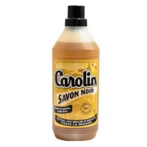 Carolin Savon Noir avec Glycérine et huile de lin 1L