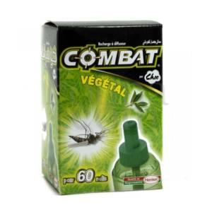 Recharge à diffuseur 45 ml Végétal Choc Combat pour 60 nuits