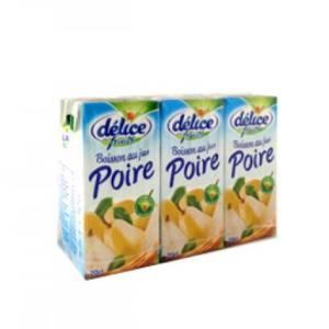 6*20 cl Boisson au jus Poire Délice de Fruits