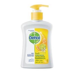 Dettol 250ml Savon Liquide pour les Mains Citron