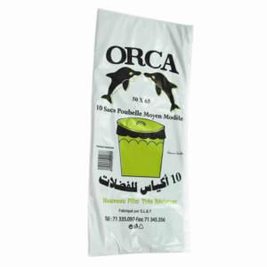 10 Sacs poubelle Orca 50X60 10 sacs/50X60
