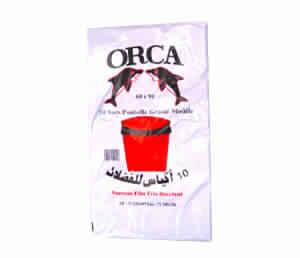 10 Sacs poubelle Orca 50X65 10 sacs/50X65
