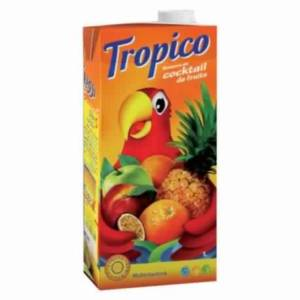 TROPICO JUS DE FRUIT COCKTAIL DE FRUIT 1 L