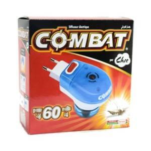 Choc combat diffuseur électrique+recharge 60 nuits