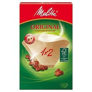 Fitres à café Original Melitta 1×2  40Filtres