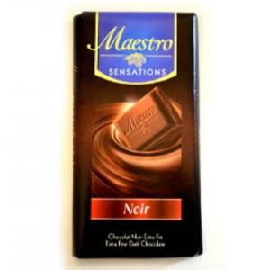 2*Chocolat Noir Maestro 90g
