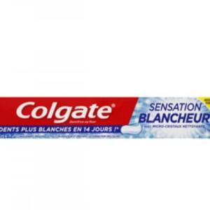 Dentifrice Colgate Sensation blancheur avec micro-cristaux nettoyants 75ml