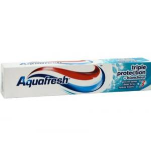 Dentifrice Aquafresh Triple protection +Blancheur 75ml