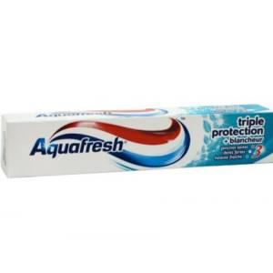 Dentifrice Aquafresh Triple protection +Blancheur 75ml