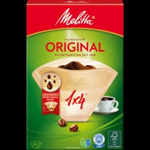 Fitres à café Original Melitta 1×4 40 Filtres