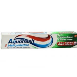 Dentifrice Triple protection Menthe douce Aquafresh 75ml