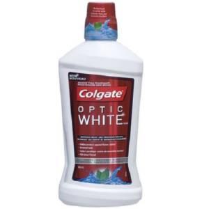 Colgate Optic White Menthe fraîche 500ml