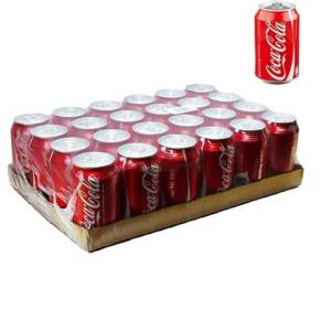 24* Canettes Coca Cola 33 cl