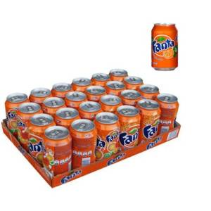 24*Canettes Fanta orange 33cl