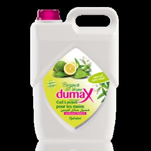 Dumax Gel Lavant 5L bergamote antibactérien