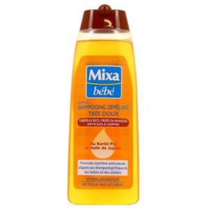 Shampooing démêlant très doux Hypoallergénique au Karité Pur et Huile de Jojoba Mixa Bébé 250 ml