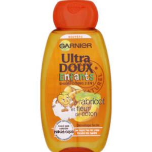 Shampoing Enfant 2 en 1 Ultra Doux Garnier à l'extrait d'abricot 200ml
