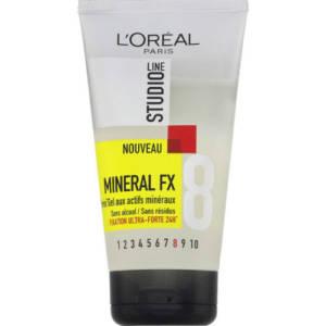 L'Oréal Gel Extra Fixant 24h Mineral FX 150 ml