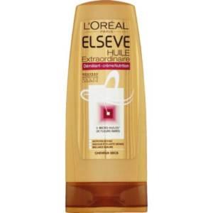 L'Oréal Paris – Elsève Huile Extraordinaire Démêlant-crème nutrition, Cheveux secs Le flacon de 200ml