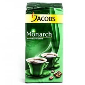 Café moulu Arôme Intense Jacobs Monarch Paquet sous-vide 225g