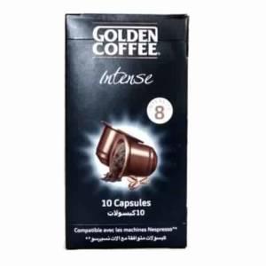 Capsules Intense Espresso Golden Coffee 10 capsules