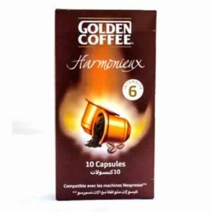 Capsules Harmonieux Espresso Golden Coffee 10 capsules