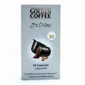 Capsules Espresso Extrême Golden Coffee 10 capsules