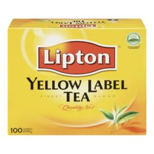 Lipton Yellow Label Tea 100 sachets