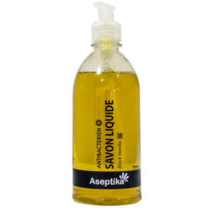 ASEPTIKA Savon liquide Antibactérien BLACK VANILLA 500ML