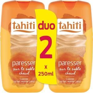 2*(Gel douche TAHITI paresser sur le sable chaud 250 ml)