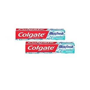 2*Dentifrice Colgate max fresh 75ml