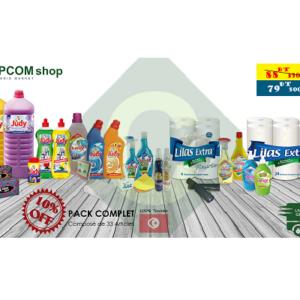 Pack de ménage standard 100% Tunisien