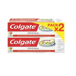2* (Dentifrice Colgate Total Original 75 ml)