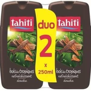 2*(Gel Douche Tahiti Tonifiante bois des Tropiques 250ml)