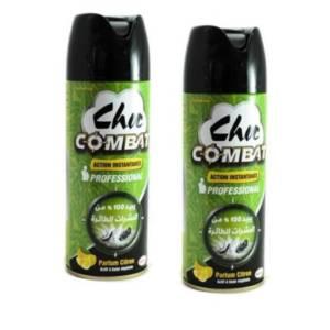2* CHOC COMBAT Citron à base végétale 300ml