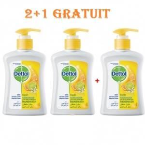 DETTOL SAVON 2+1 GRATUIT